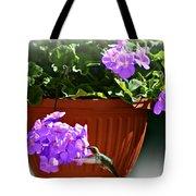 A Taste Of Geraniums Tote Bag