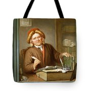 A Tax Collector, 1745 Tote Bag by Tibout Regters