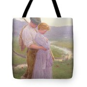 A Tender Moment Tote Bag