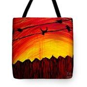 A Texas Sunrise Tote Bag