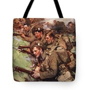 A Thrilling Charge, Illustration Tote Bag