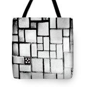 A Tiled Wall Tote Bag