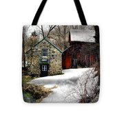 A Time Passing Tote Bag