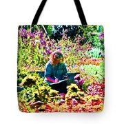 A Time To Draw Tote Bag