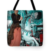 A Tint Of Teal Tote Bag