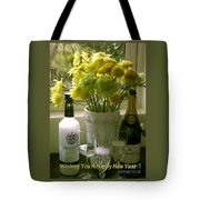 A Toast Of Cheers For The New Year Tote Bag