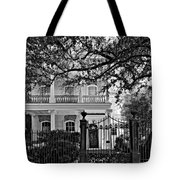 A Touch Of Class Monochrome Tote Bag