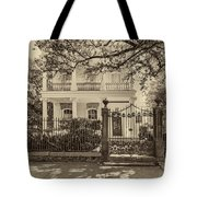 A Touch Of Class Sepia Tote Bag