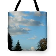 A Touch Of Cloudy Tote Bag