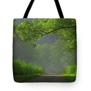 A Touch Of Green Tote Bag