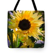 A Touch Of Sunflower Tote Bag