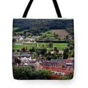 A Town In France Tote Bag