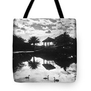 A Tranquil Scene In Hawaii Tote Bag