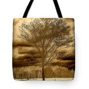 A Tree At Appleton Tote Bag
