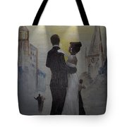 A Tribute To Jack Dance Under A Chessie Moon Tote Bag