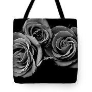 A Trio Of Roses Tote Bag