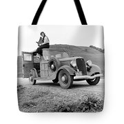 A Trip In The 1930s Tote Bag