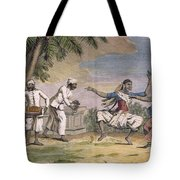 A Troupe Of Bayaderes, Or Indian Tote Bag by Pierre Sonnerat