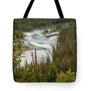 A Turn In The Bow River Tote Bag
