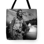 A Tuskegee Airman Tote Bag