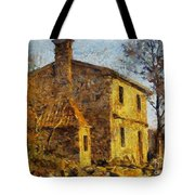 A Typical  Karstic House Tote Bag
