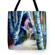 A Unicorn In The Distance Tote Bag