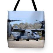 A U.s. Air Force Cv-22b Osprey Tote Bag