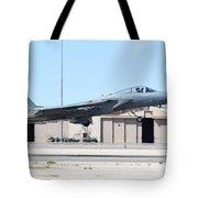 A U.s. Air Force F-15c Eagle Taking Tote Bag