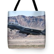 A U.s. Air Force F-15e Strike Eagle Tote Bag