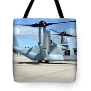 A U.s. Marine Corps Mv-22b Osprey Tote Bag