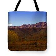 A Utah Landscape In Autumn Tote Bag