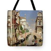 A Venetian Canal  Tote Bag