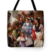 A Venetian Christening Party, 1896 Tote Bag by Henry Woods