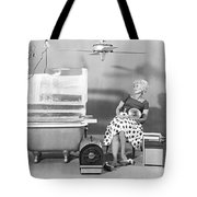 A Vey Hot Woman Tote Bag