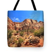 A View Along The Watchman Tote Bag