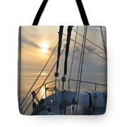 A View From A Boat Tote Bag