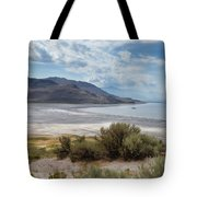 A View From Buffalo Point Of White Rock Bay Tote Bag