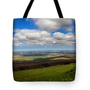 A View From Cabbage Hill Tote Bag