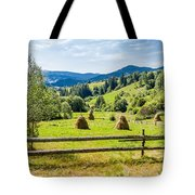 A View From Carpathians Tote Bag