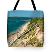 A View From Chappaquiddick Island Marthas Vineyard Massachusetts Tote Bag