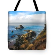 A View From Ecola State Park Tote Bag