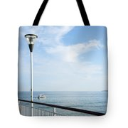 a View from Pier Tote Bag