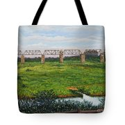 A View From Skukuza Tote Bag
