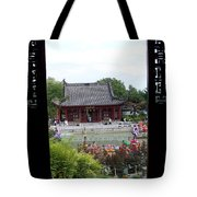A View From The Gazebo Tote Bag
