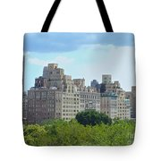 A View From The Met Tote Bag