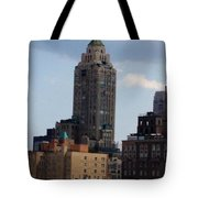 A View From The Met Rooftop Garden Tote Bag