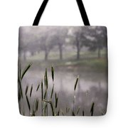 A View In The Mist Tote Bag