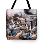 A View In White Chapel Road 1830 Tote Bag