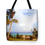 A View Of Bermuda Tote Bag