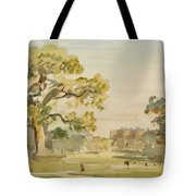 A View Of Chirk Castle, 1916 Tote Bag